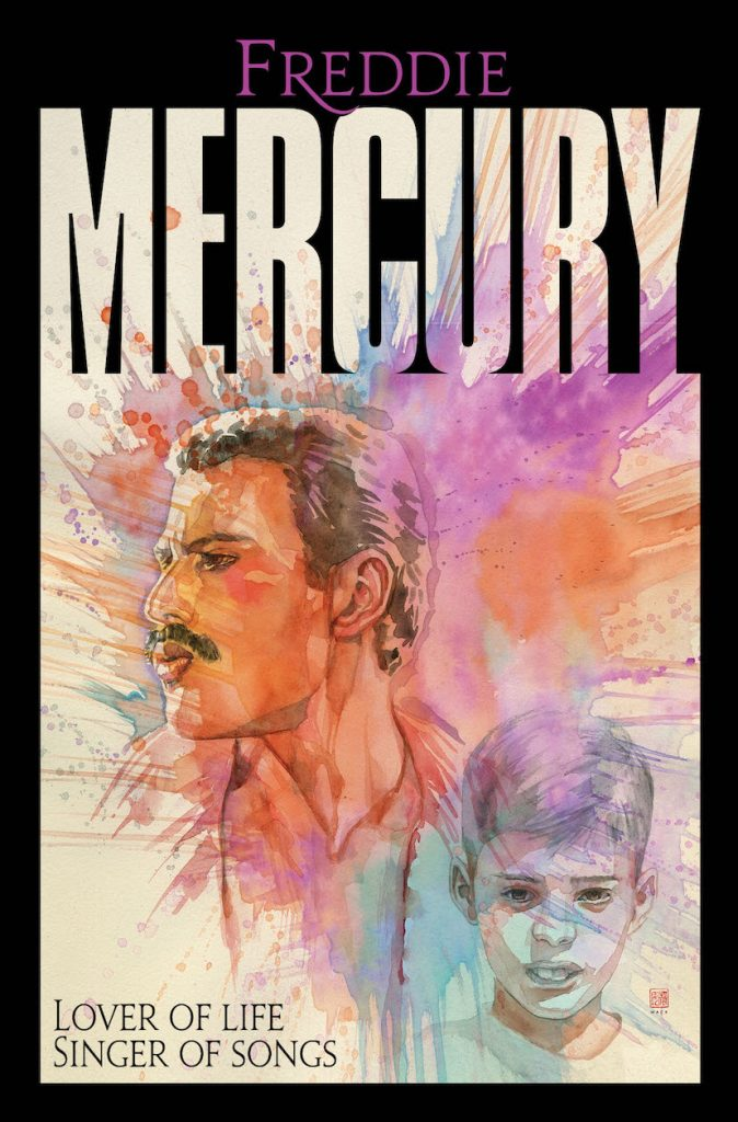 Z2 COMICS ANNOUNCES THE FIRST-EVER OFFICIAL FREDDIE MERCURY GRAPHIC NOVEL– LOVER OF LIFE, SINGER OF SONGS