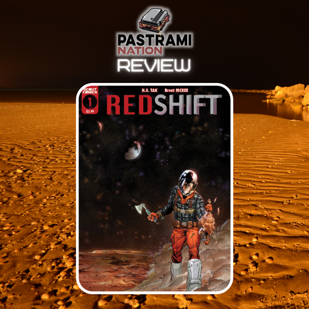 Comic Book Review: Redshift #1