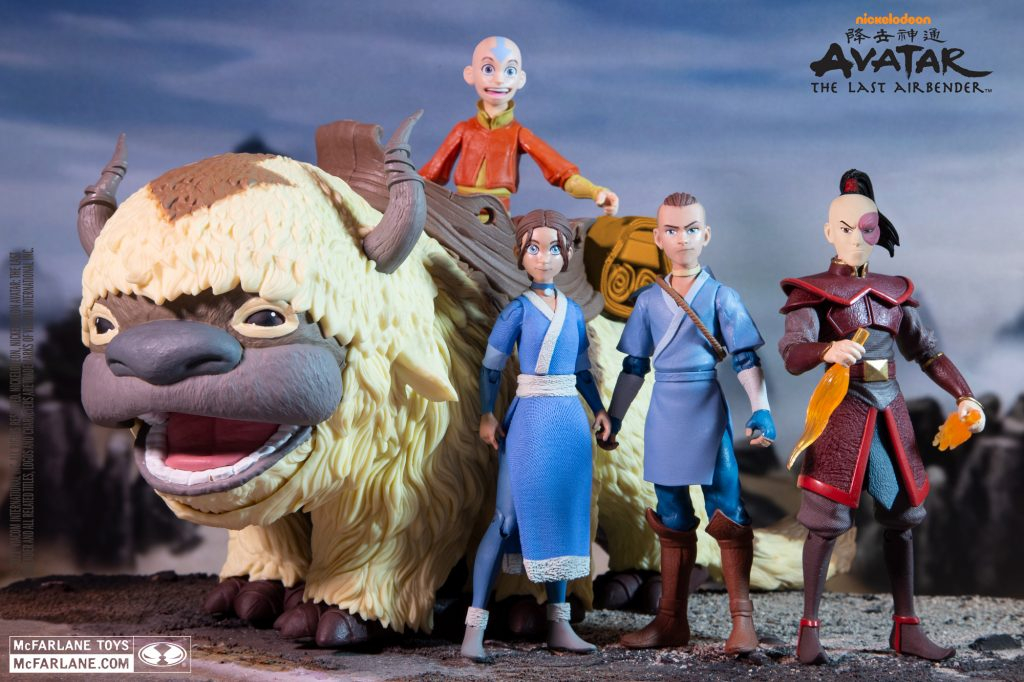 AVATAR THE LAST AIRBENDER COMING TO MCFARLANE TOYS