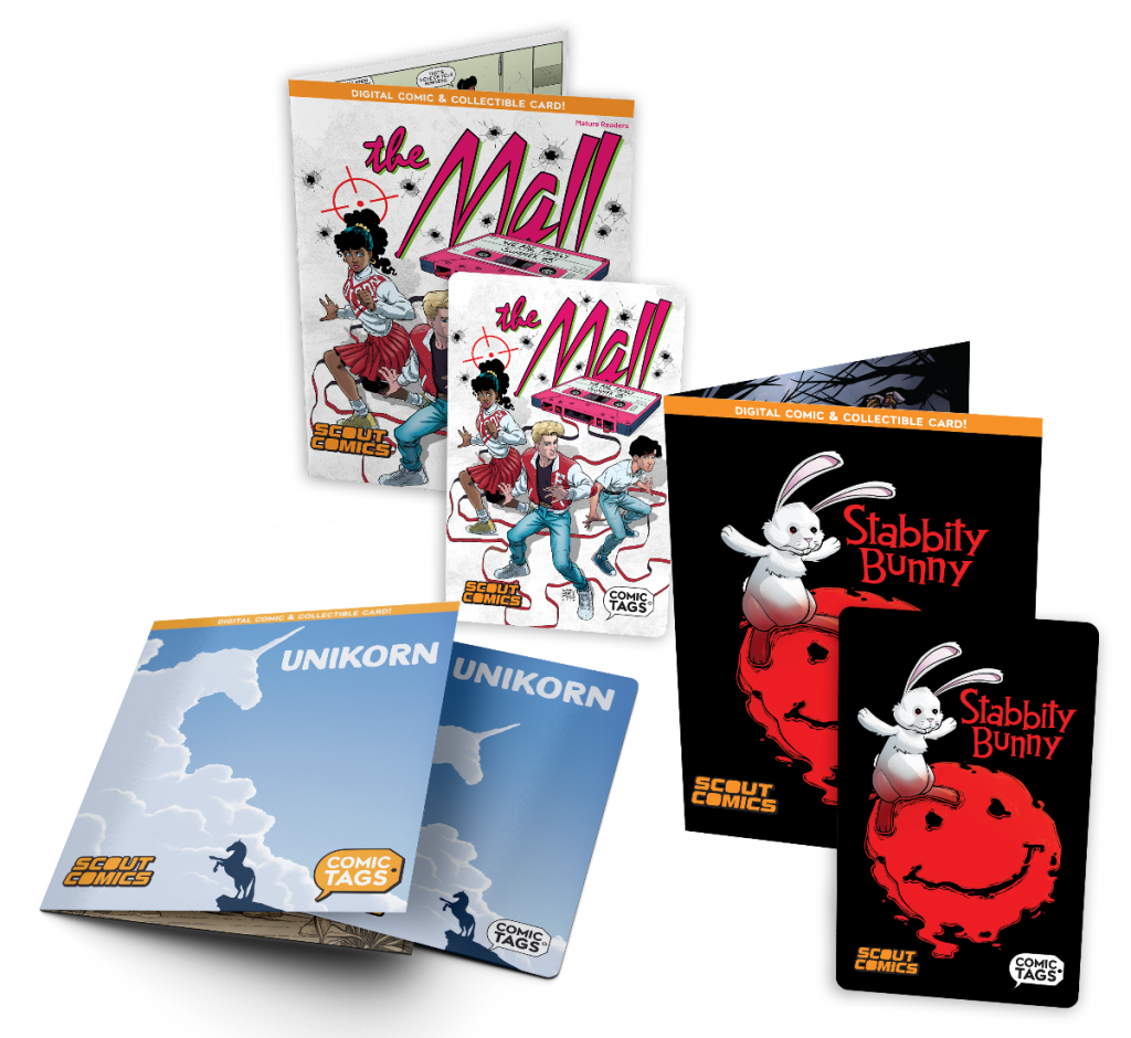 COMIC TAGS – A New Way To Collect Comic Books Has Launched In Partnership With SCOUT COMICS
