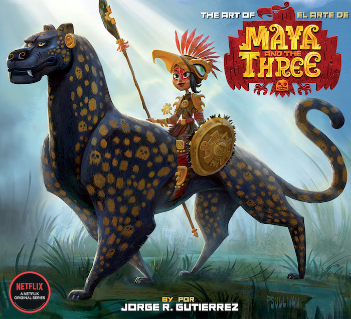 Netflix Animated Event 'Maya and the Three' Receives Art Book