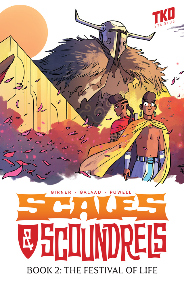 A Graphic Novel Review: Scales & Scoundrels Book 2: The Festival of Life