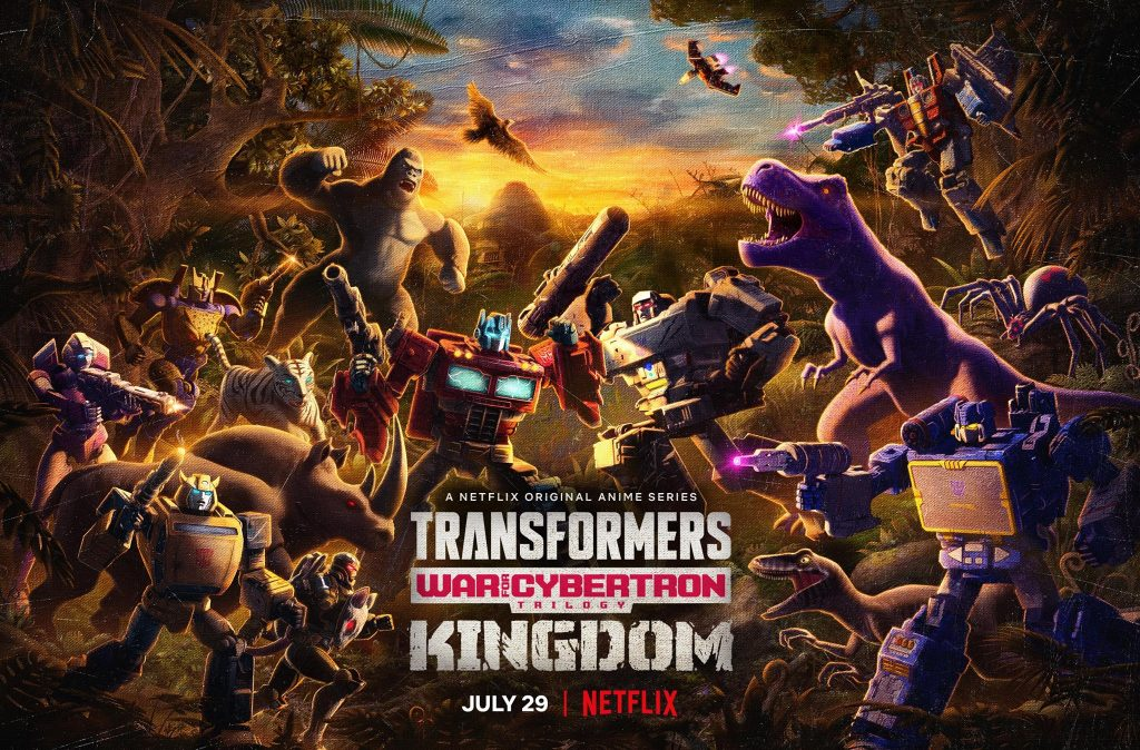 'Transformers: War for Cybertron Trilogy' comes to its conclusion with KINGDOM-Premieres only on Netflix July 29, 2021
