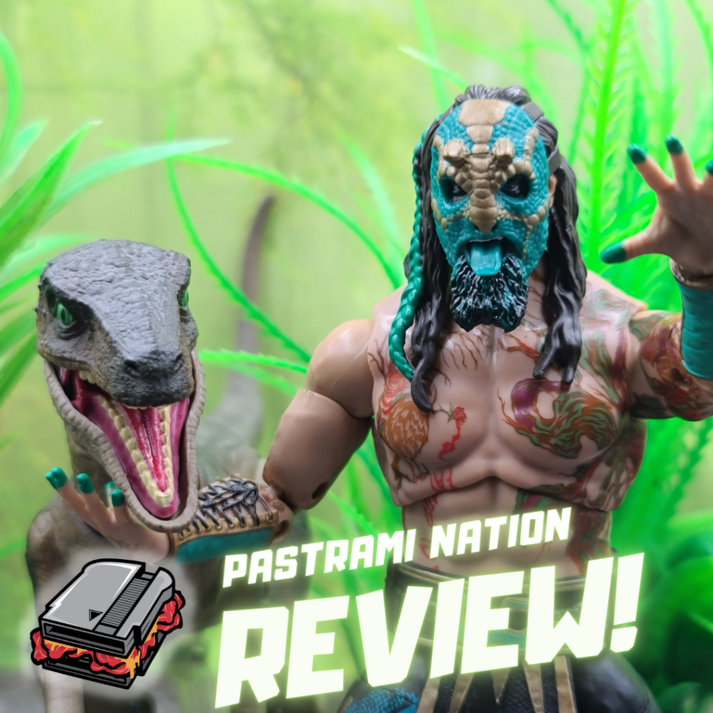 Action Figure Review: AEW Unrivaled- Luchasaurus