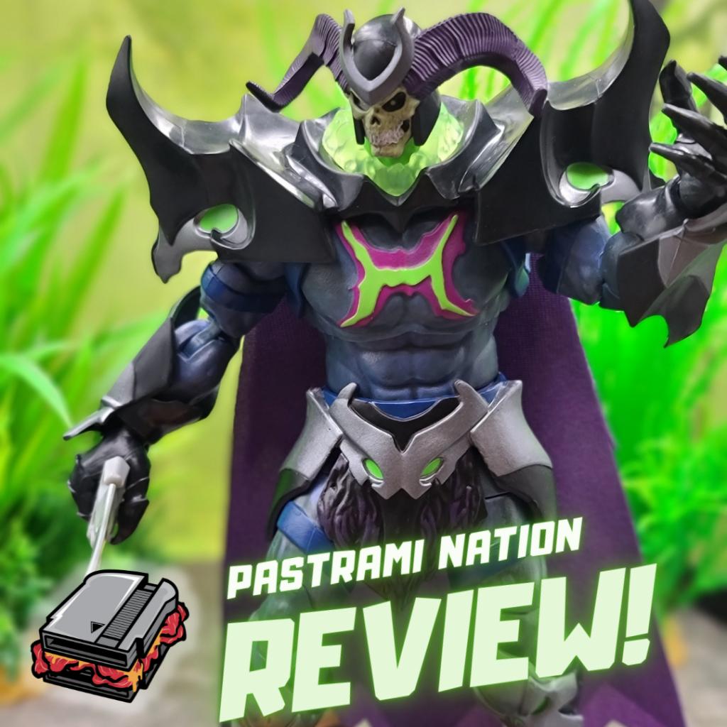 Action Figure Review: Masters of the Universe Revelation- Skelegod