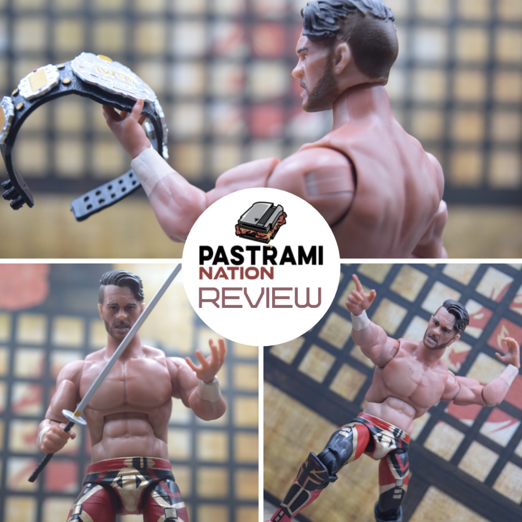 Action Figure Review: Super7 Ultimates New Japan Pro Wrestling Will Ospreay