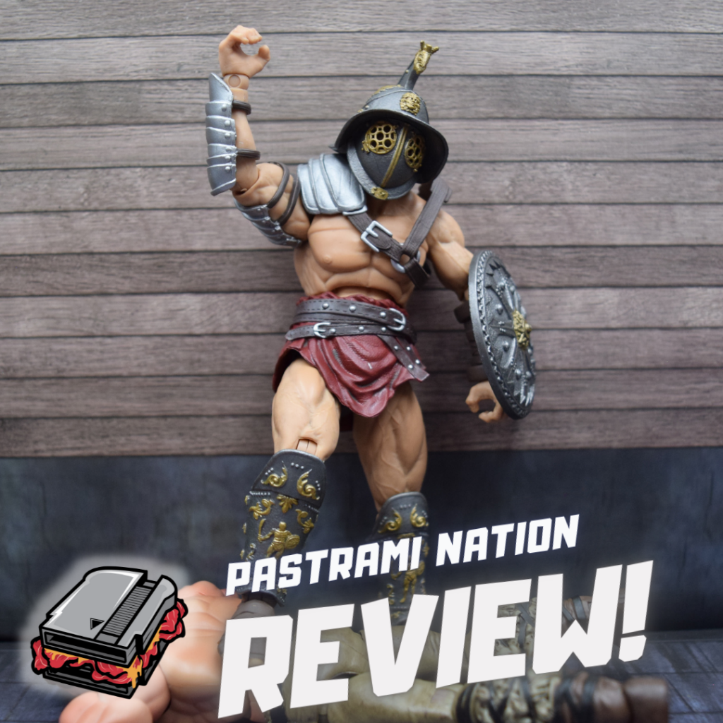 """Action Figure Review: Combatants Fight for Glory Medocus """"Reaper"""""""