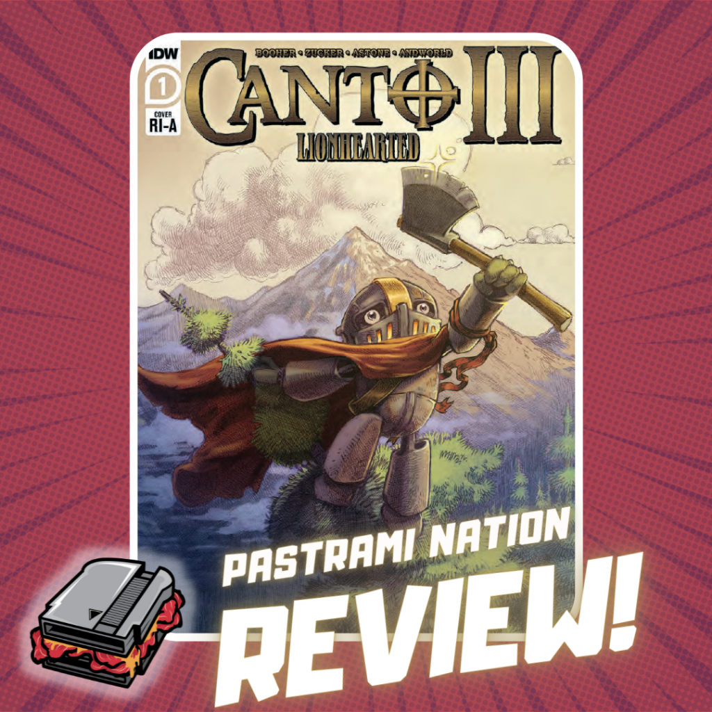 Comic Book Review: Canto III: Lionhearted #1