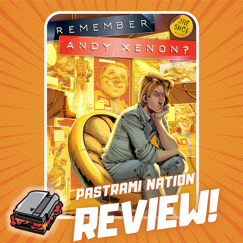 A Graphic Novel Review: Remember Andy Xenon?