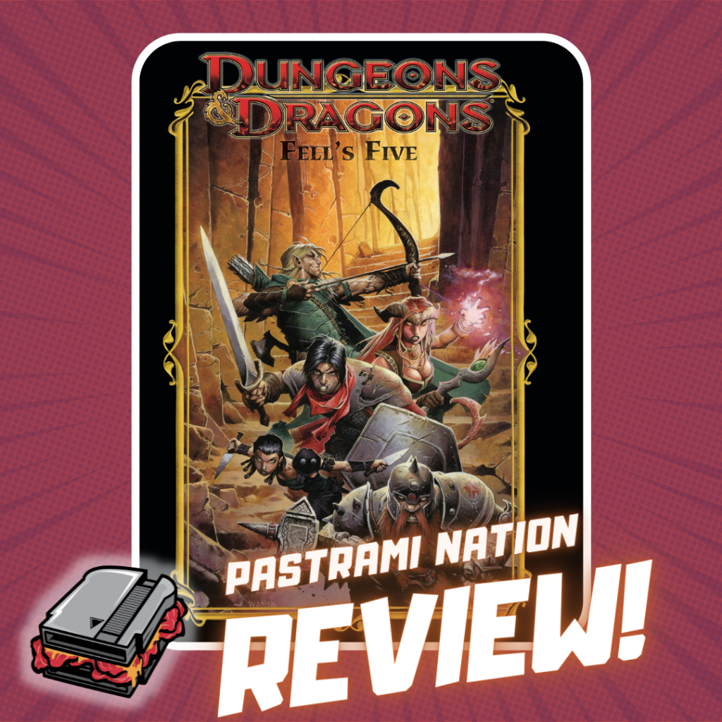 Graphic Novel Review: Dungeons & Dragons Fell's Five