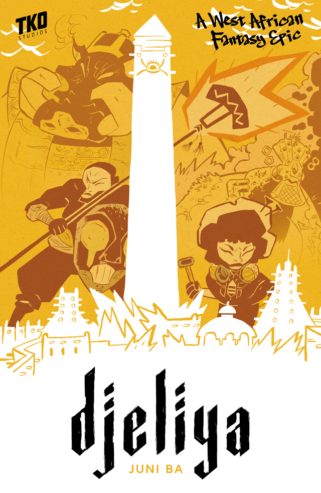 Graphic Novel Review: Djeliya