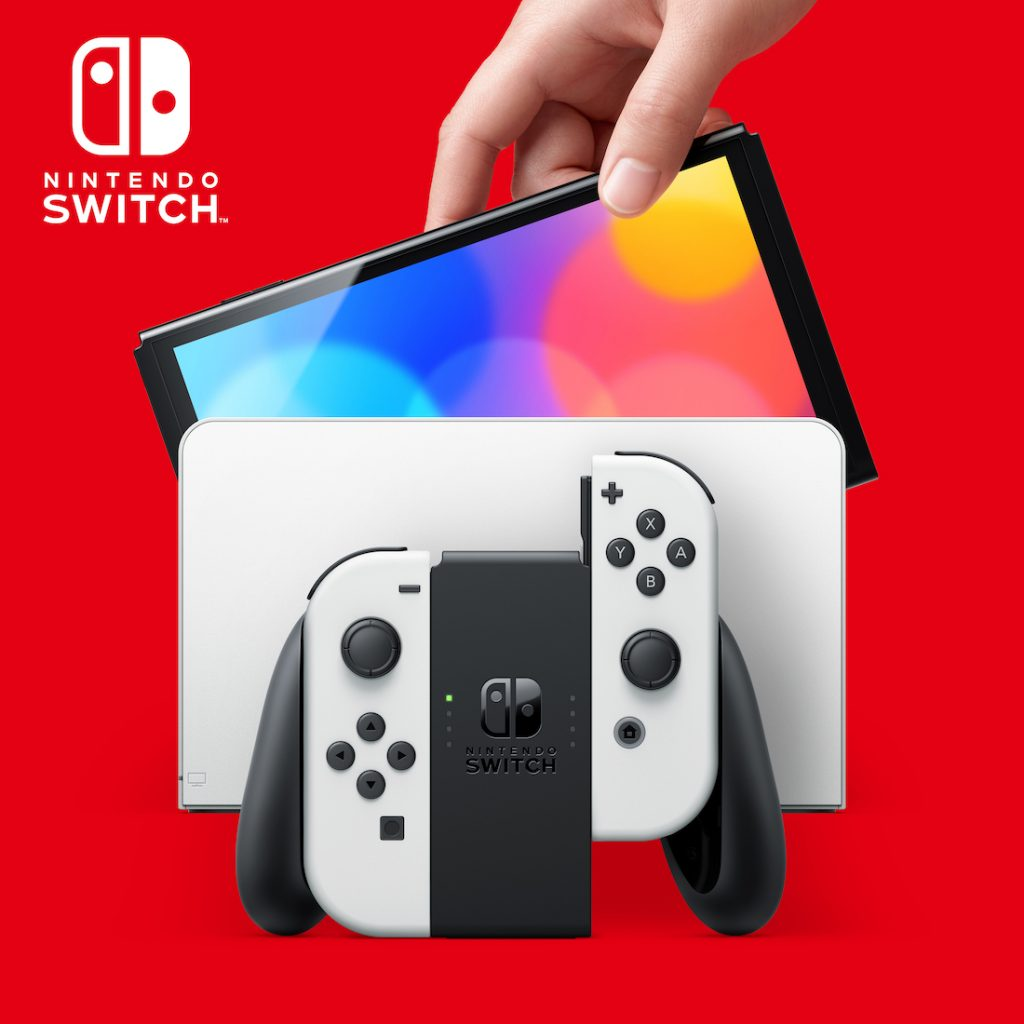 Nintendo Announces Nintendo Switch (OLED model) With a Vibrant 7-inch OLED Screen, Launching Oct. 8