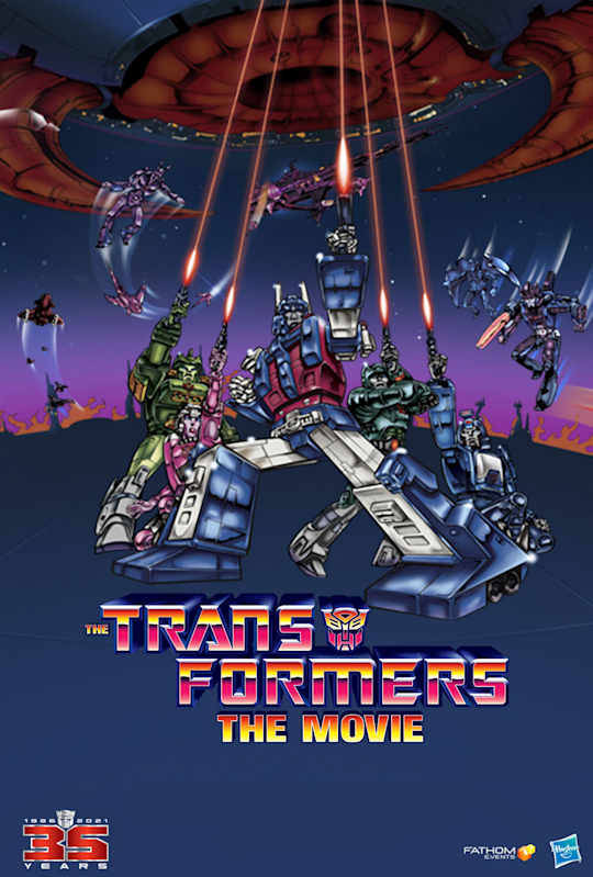 Celebrate 35 Years of TRANSFORMERS on the Big Screen When THE TRANSFORMERS: THE MOVIE Returns to Theaters