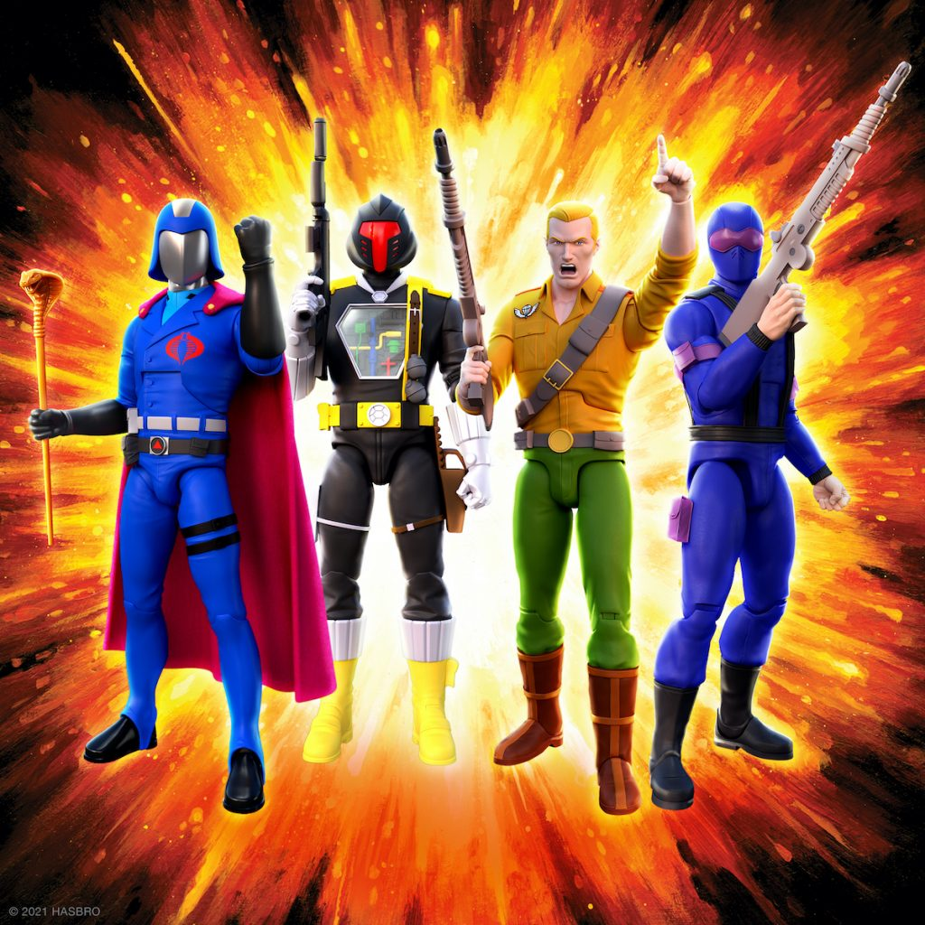 Super7 and Hasbro Team Up for G.I. Joe ULTIMATES! & ReAction Figures