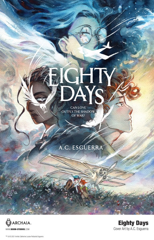 Fly Away in a New Look at A.C. Esguerra's EIGHTY DAYS Graphic Novel