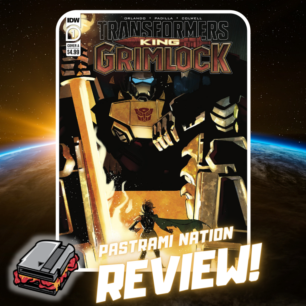 Transformers: King Grimlock #1 Review: Identity Crisis