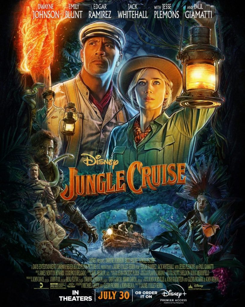 """Disney's """"Jungle Cruise"""" Debuts At #1 With More Than $90M Globally Between Box Office And Disney+ Premier Access"""