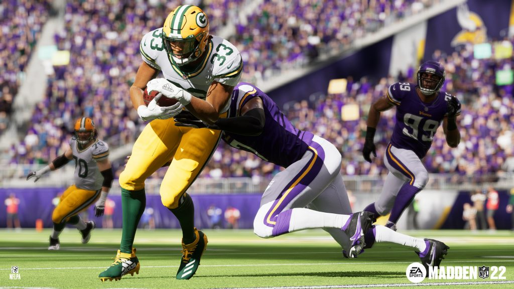 Electronic Arts Releases EA SPORTS Madden NFL 22 Worldwide Today