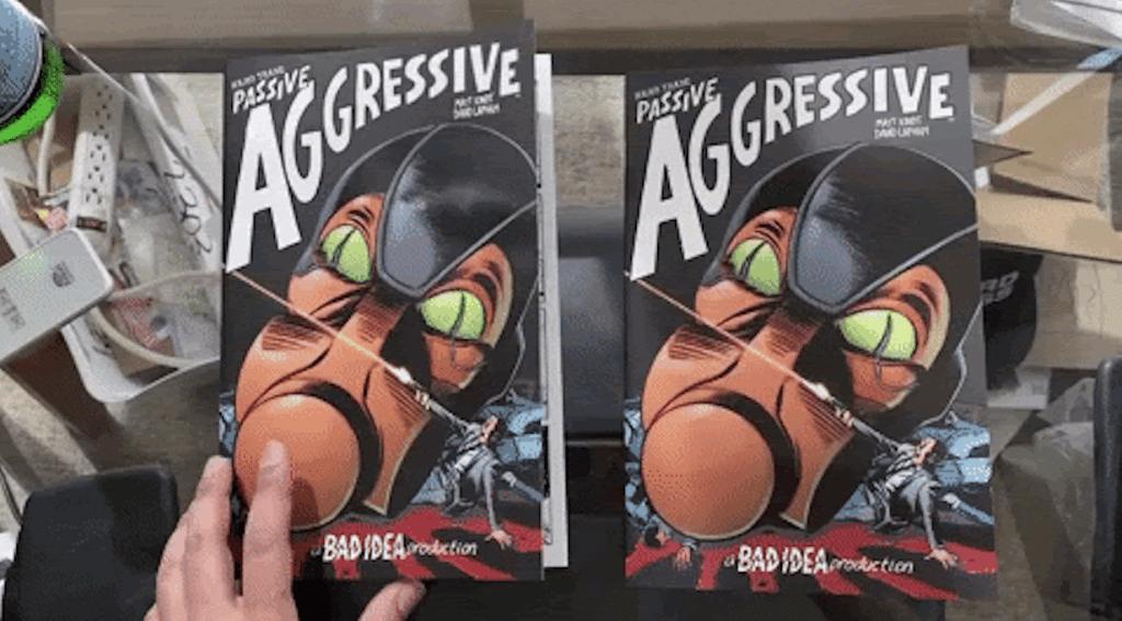 HERO TRADE: PASSIVE AGGRESSIVE Is Secretly TWO Books — FINAL FIVE Pre-Order Sticker Details & FAQ Inside!