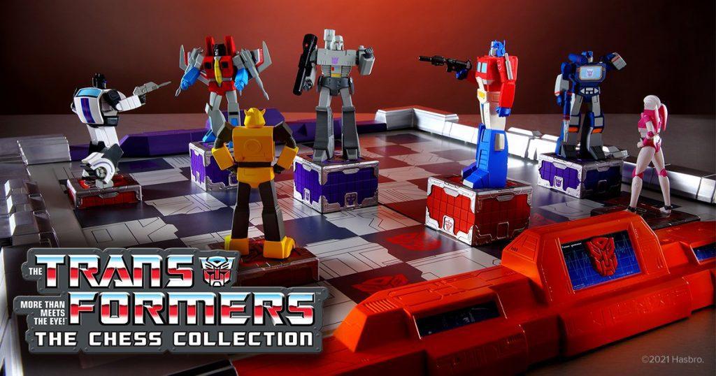 Hero Collector and Hasbro Bring Transformers Chess to Kickstarter