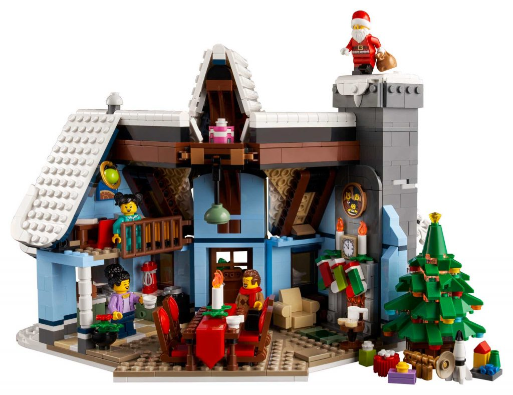 Spread holiday cheer with the LEGO Santa's Visit set