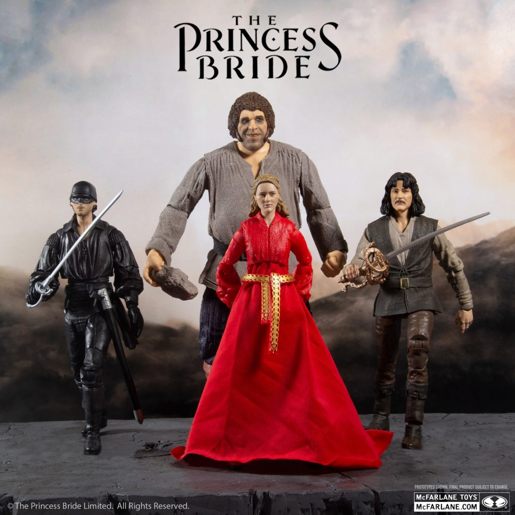 McFarlane Toys Reveals The Princess Bride Figures and Pre-Order Info