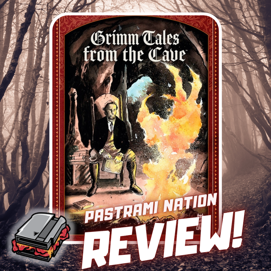 Graphic Novel Review: Grimm Tales from the Cave