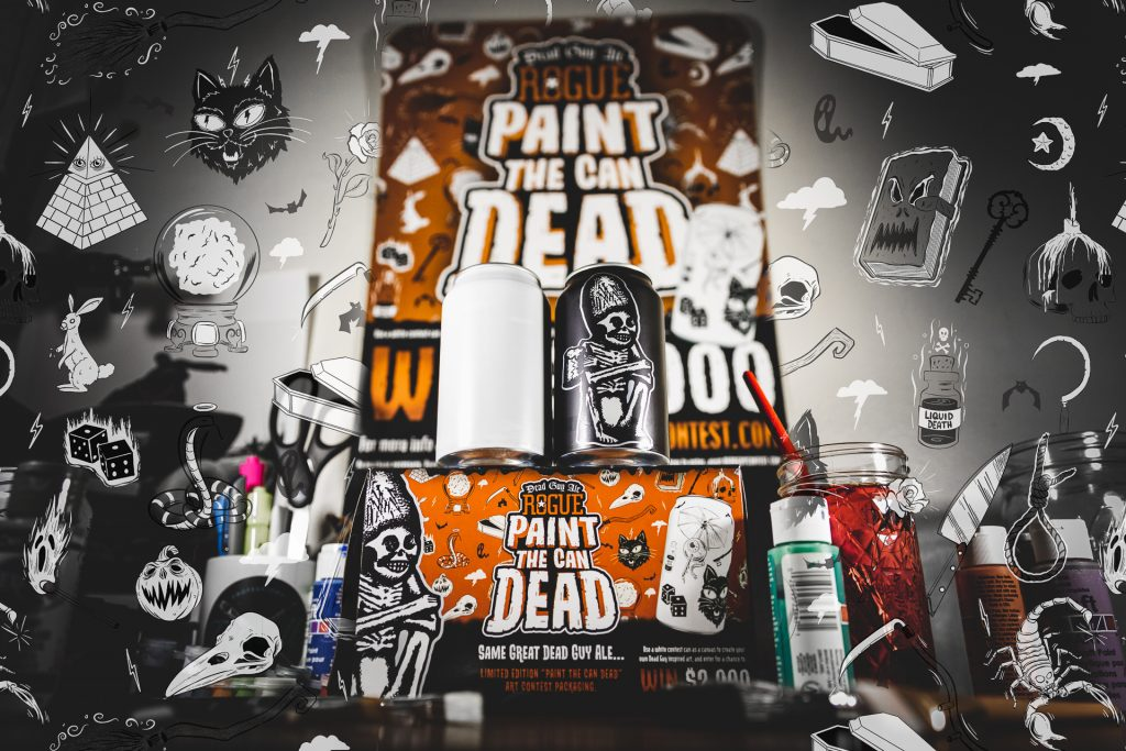 Rogue's Paint the Can Dead Contest is Back for Year Two with the Addition of Celebrity Judging Panel
