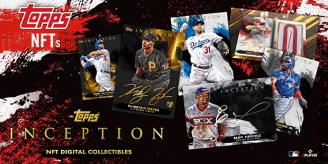 Topps Celebrates Baseball's Rising Stars with 2021 Topps MLB Inception NFT Collection Launch
