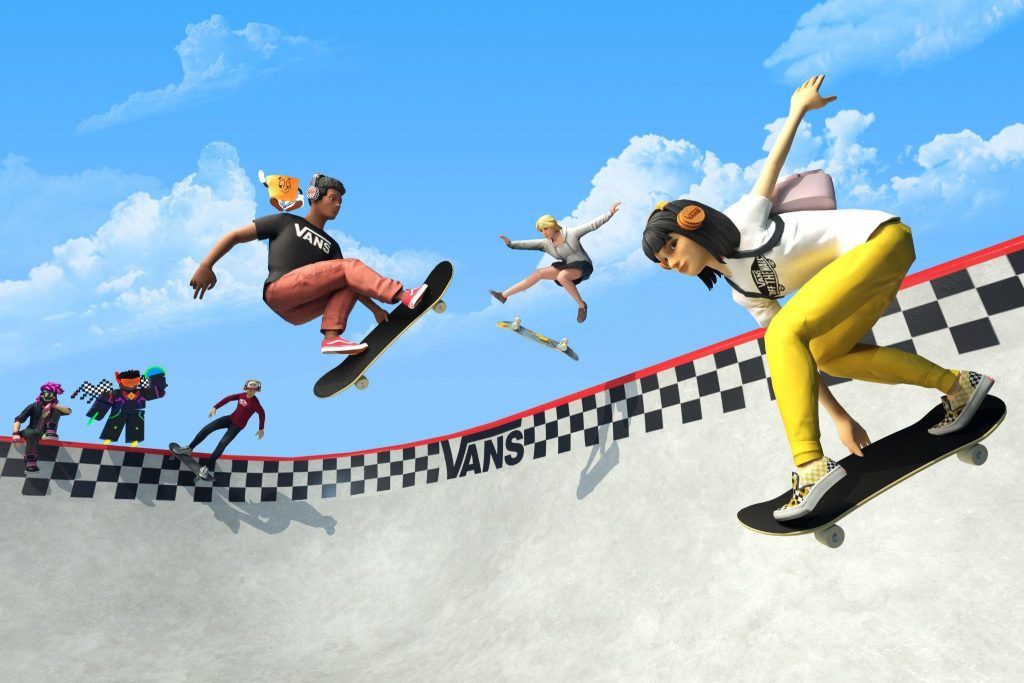 """Vans Launches """"Vans World"""" Skatepark Experience in the Roblox Metaverse"""