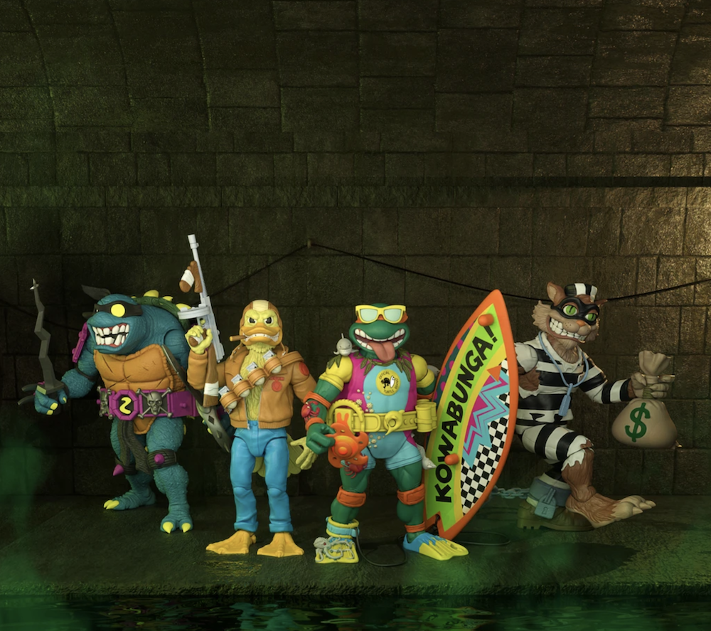 Super7 Teenage Mutant Ninja Turtles ULTIMATES! Wave 6 Figures-Now Available to Pre-Order