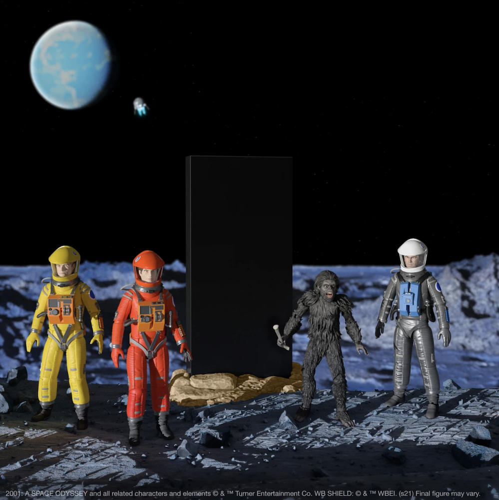 Super7 Announces 2001: A Space Odyssey ULTIMATES! Figures: Pre-Order Now!