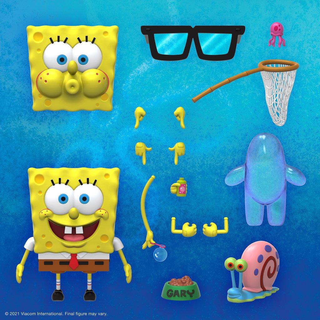 SpongeBob Joins The Super7 ULTIMATES! World