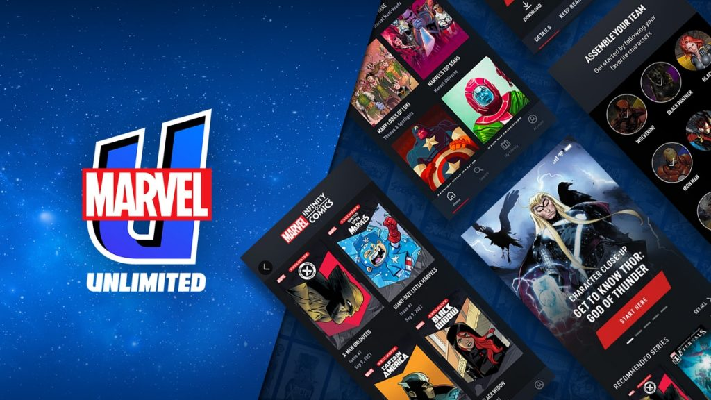 Marvel Launches All-New Marvel Unlimited App