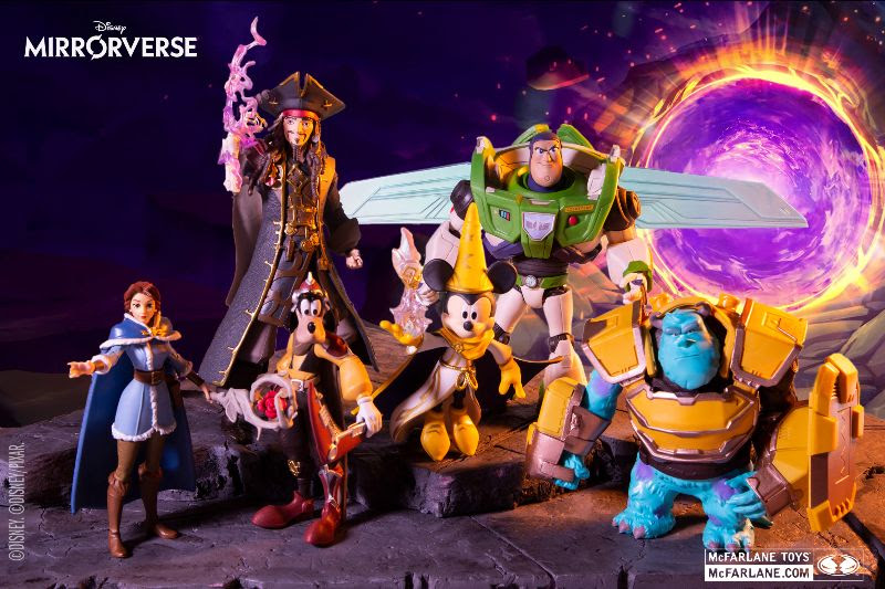 McFarlane Toys Launches Disney Mirrorverse Collection- Hitting Retailers Nationwide Now!