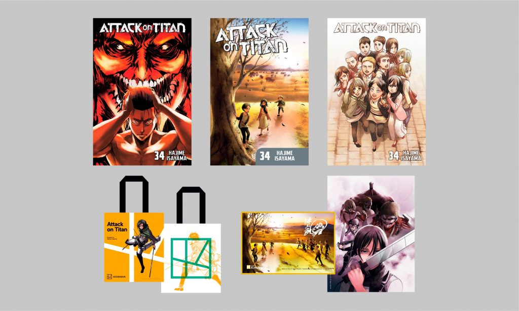 Attack on Titan Final Volume Variants & Exclusives