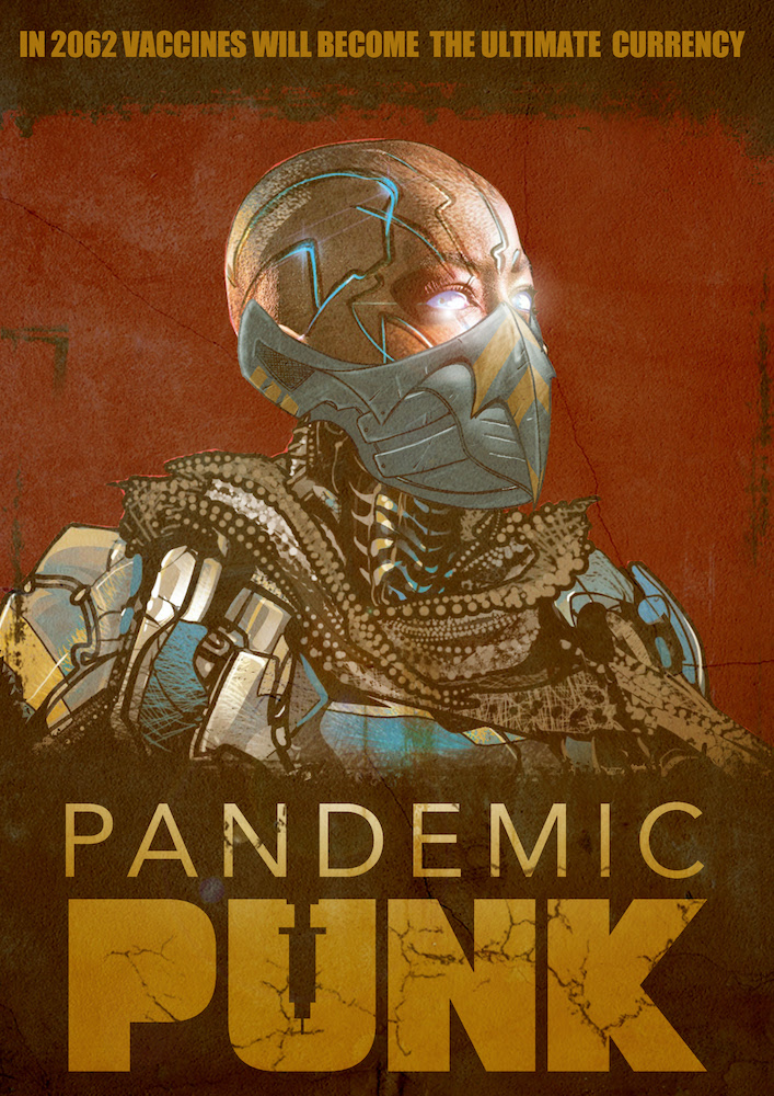 Set in the not-so-distant eco/solar punk future, vaccines are currency in Pandemic Punk-Now on Kickstarter