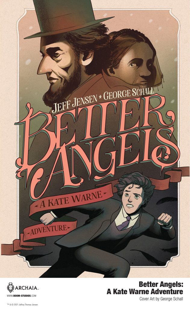A New Look at America's First Woman Detective in BETTER ANGELS
