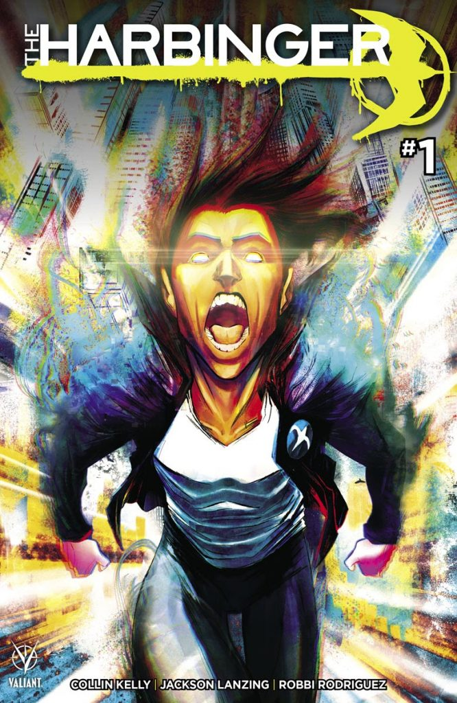 EXTENDED PREVIEW: THE HARBINGER #1 ON SALE OCTOBER 27TH