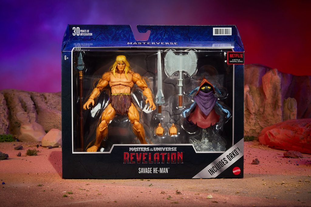 Legendary Savage He-Man Joins Masterverse Toy Line Ahead of Part 2 Release of Masters of the Universe: Revelation